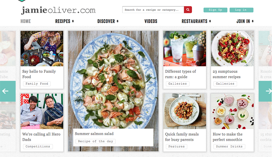 jamie olive app blog