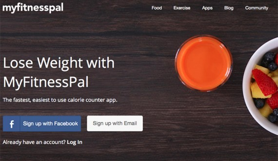 my fitness pal app blog