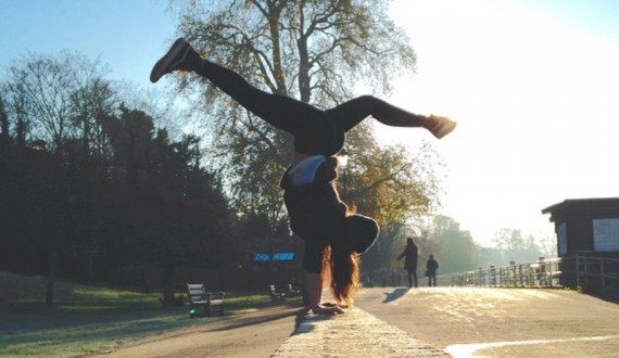 tiffany blog handstand