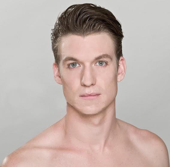 Headshot of ballet dancer